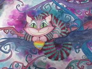 Cheshire Cat by TJ Lubrano