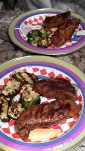 Gilled Tri-tip & veggies